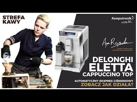 Delonghi Eletta Cappuccino Top | Ekspres ciśnieniowy