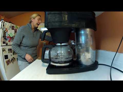 bunn coffee maker filter hack