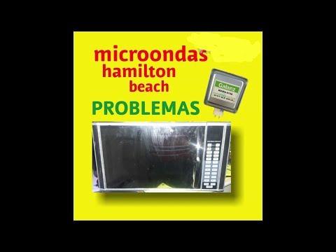 Microondas Hamilton Beach no calienta, la mejor solucion