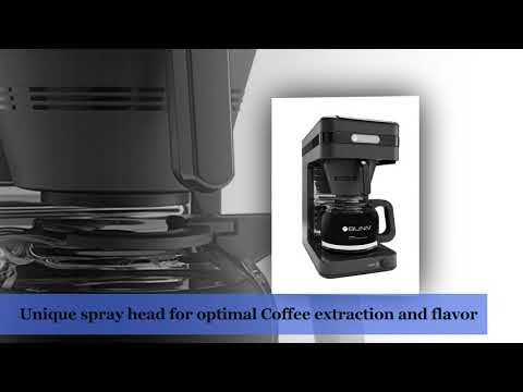 BUNN CSB2G Speed Brew Elite Coffee Maker, Gray