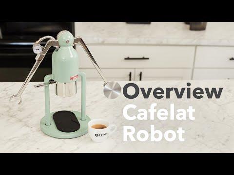 Cafelat Robot Espresso Maker Overview
