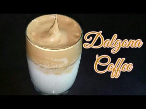 Dalgona Coffee Recipe | Homemade Dalgona Coffee |Trending Whipped Coffee