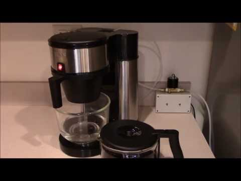 Arduino-Controlled  Bunn Coffeemaker  Automatic Fill/Brew  System