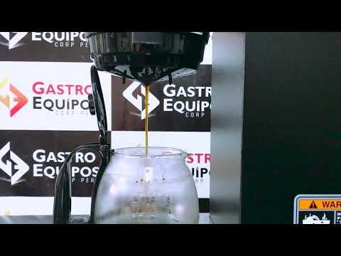 Cafetera bunn 2 decantadores gastroequipos