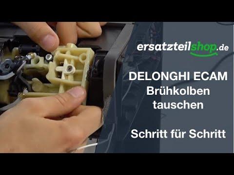 DELONGHI ECAM Brühkolben ausbauen und tauschen im Detail erklärt