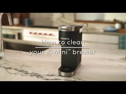 How to Clean Your Keurig® K-Mini Coffee Maker
