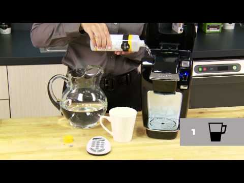Descale your Keurig® MINI Plus Brewer- Keurig How To Official Video