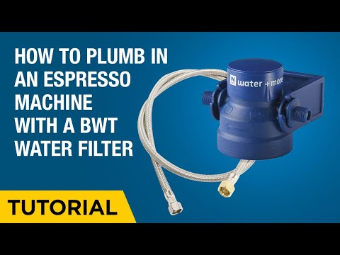 How to plumb in a home espresso machine with a BWT Filter.