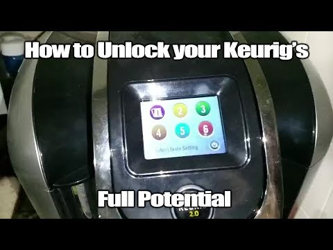 How to unlock Preferred Brew Settings on a Keurig 2.0 – Keurig Tutorial – Keurig Hack