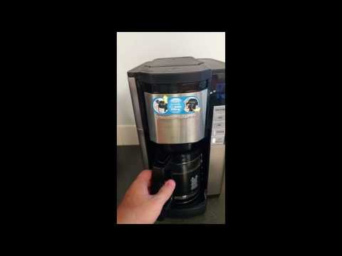 Hamilton Beach Programmable 12 cup Coffee Maker 46381