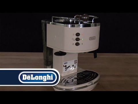 DeLonghi How To Icona Making first Espresso