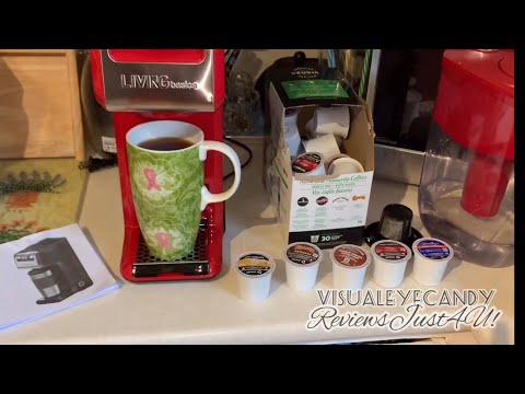 LIVINGbasic 2 in 1 Single Serve Coffee Maker Review by ReviewsJust4U!