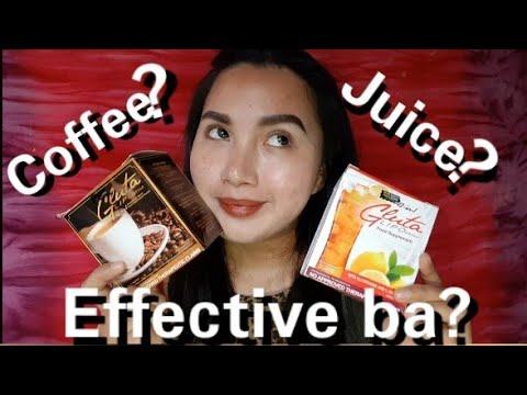 GLUTA LIPO JUICE AND COFFEE REVIEW| EFFECTIVE BA ? #Glutalipoph #Glutaliporeview #Glutalipoproducts