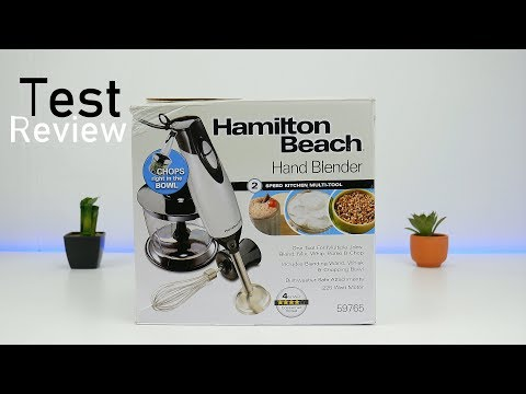 Hamilton Beach Hand Blender Review Test