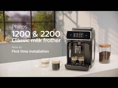 Philips Series 1200 & 2200 Automatic Coffee Machines –  How to Install and Use