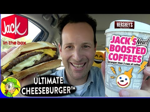Jack In The Box® | ULTIMATE CHEESEBURGER™ 🍔 | BOOSTED COFFEE Review ☕ | Peep THIS Out! 🕵️‍♂️
