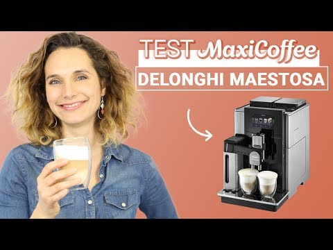 DELONGHI MAESTOSA EPAM 960.75.GLM | Machine à café automatique | Le Test MaxiCoffee