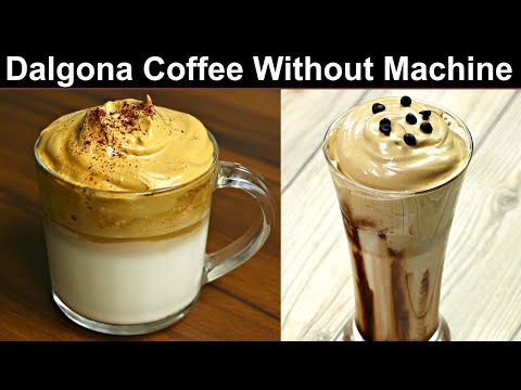 The Viral Internet Coffee | Dalgona Coffee Recipe Without Machine | Whipped Coffee | Kabita