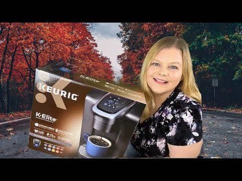 Unboxing and SETUP of the Keurig® K-Elite® Single Serve Coffee Maker