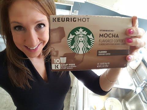 Starbucks Mocha Flavored Coffee for the Keurig | Yummy!