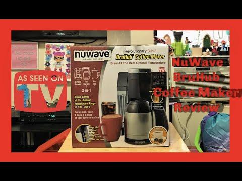 NuWave BruhHub 3-1 Coffee Maker Review