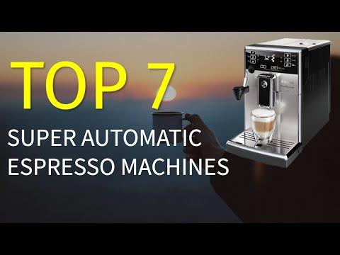 7 Best Super Automatic Espresso Machines in 2019