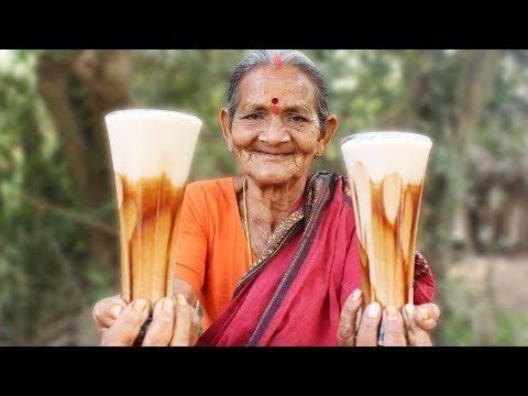 Cold Coffee Recipe || How To Make Cold Coffee by My Grandmother || Myna Tasty Food
