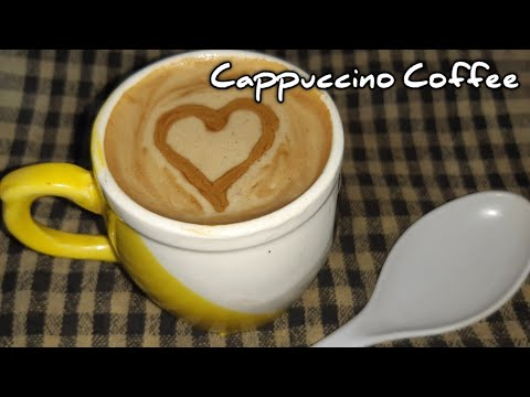 இனி மேல் வீட்டிலேயே Cappuccino காபி செய்யலாம் | Homemade Cappuccino Coffee recipe in tamil