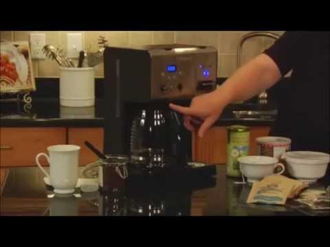 Cuisinart Coffee Plus 12 Cup Programmable Coffeemaker CHW 12