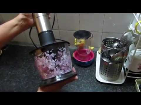 How to use the Hamilton Beach Hand Blender Chopper attachment #CreateFearlessly