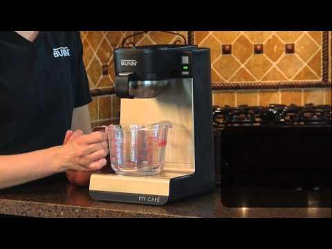 How to clean BUNN® My Café®