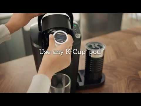 Keurig® K-Latte Single Serve Coffee & Latte Maker – Product Features