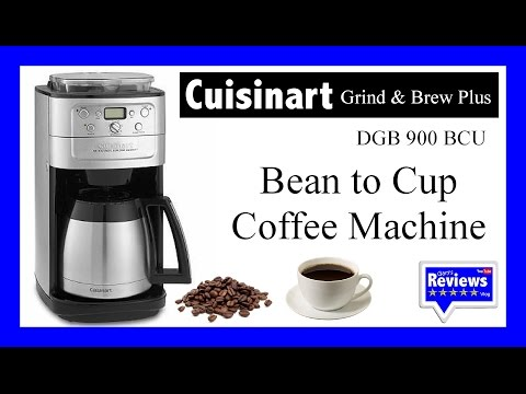 Cuisinart Grind & Brew Coffee Machine Review. Product details in description below