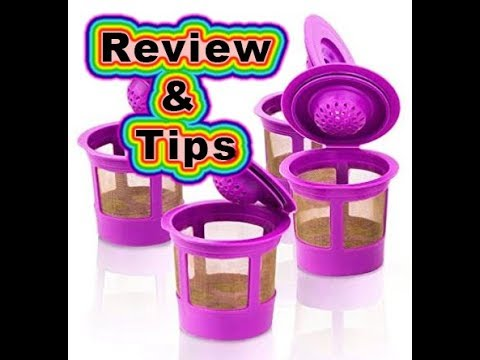 Reusable K-cup Coffee Filters for Keurig Review Tips & Tutorial