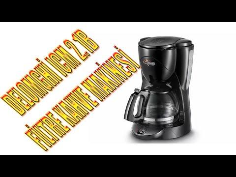 FİLTRE KAHVE NASIL YAPILIR (Delonghi ICM 2.1 Filtre Kahve Makinesi İnceleme)