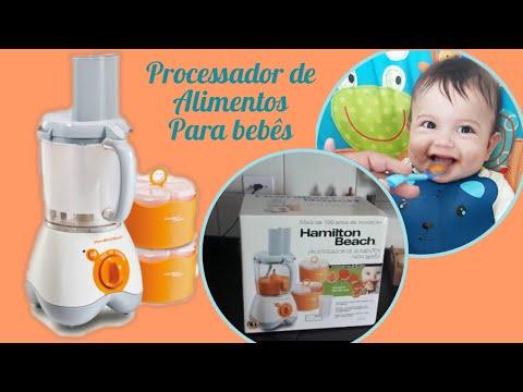 RESENHA: Processador de alimentos para bebê (Hamilton Beach)