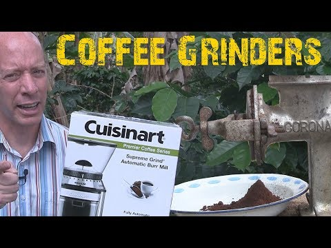 Automatic Coffee Grinder VS Colombian Traditional Grinder | Cuisinart Coffee Grinder Review