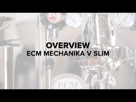 ECM Mechanika V Slim Espresso Machine Review