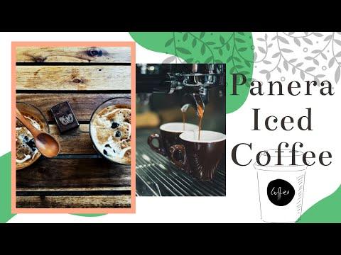 Panera Iced Coffee Review: Caramel