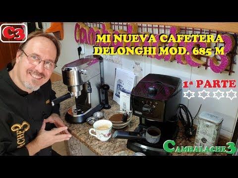 MI NUEVA CAFETERA DELONGHI 1ªPARTE