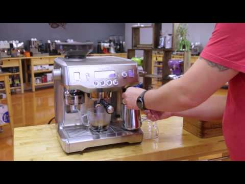 Breville Oracle Espresso Machine Preview