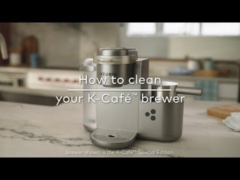 How to Clean Your Keurig® K-Cafe Coffee, Latte & Cappuccino Maker