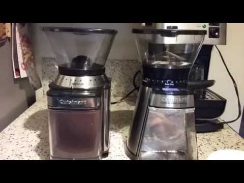 Side-by-Side Cuisinart Burr Coffee Grinder Comparison