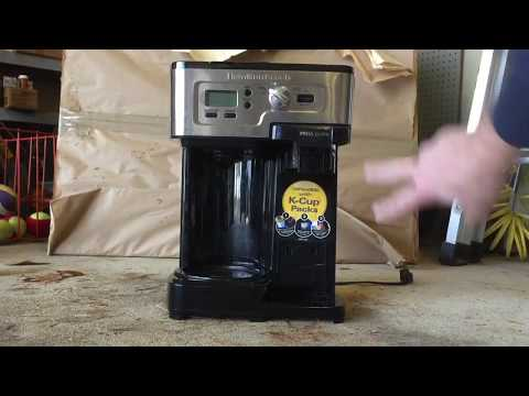 Cleaning clogged Hamilton Beach FlexBrew (Keurig) coffee maker