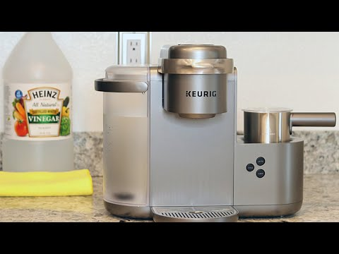 How To Clean and Descale KEURIG K-Cafe (Simple, Quick, And Easy) + 1 Year update