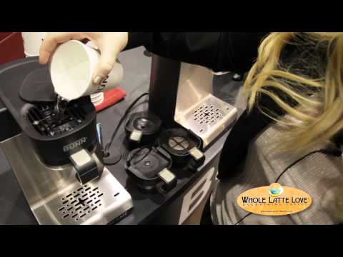 Brew K-Cups or Ground Coffee with the Bunn My Cafe MCU