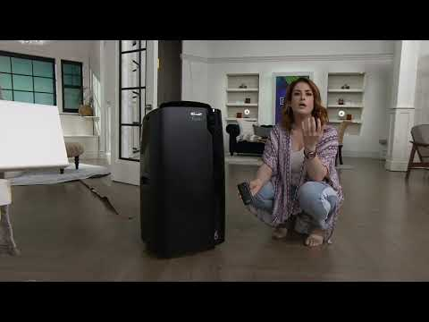 DeLonghi 14,000 BTU (8,100 BTU DOE) Portable Air Conditioner on QVC