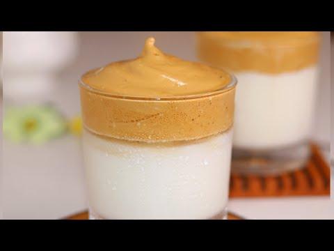 ইন্টারনেটের ভাইরাল হওয়া ডালগোনা কফি রেসিপি ॥ Dalgona Coffee Recipe ॥ Coffee Recipe