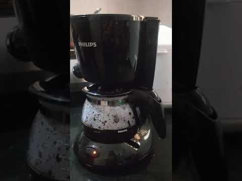 Philips Coffee Maker Demo