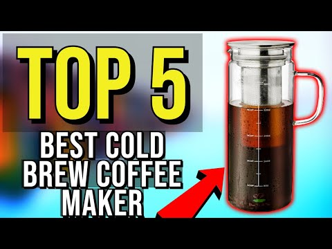 ✅ TOP 5: Best Cold Brew Coffee Maker 2020